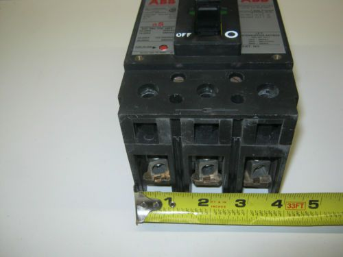 USED, ABB TYPE ES, UXAB-727131-R117, 3-POLE 70-AMP, CIRCUIT BREAKER, US $50.00 – Picture 7