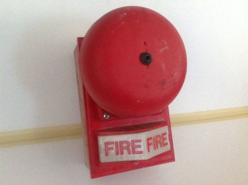 Simplex Fire Alarm Bell Strobe Audible Signal Operator, 2901