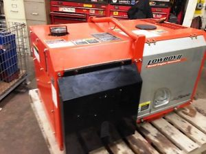Used kubota gl7000 diesel generator serviced rated 6.5kva  120/240v single phase
