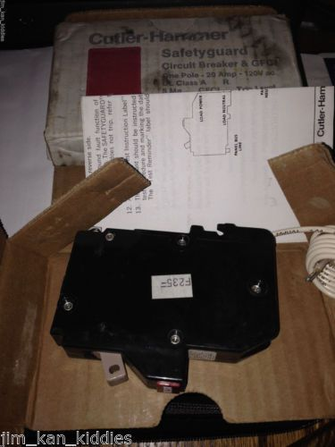 New! Cutler Hammer*1 pole 20 amp 120v*CHB120GF Circuit Breaker *GFCI*TRIP LEVEL � Picture 2