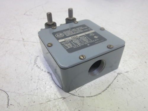 ALLEN BRADLEY 802T-A2A1D SER.C OIL TIGHT LIMIT SWITCH 600VAC *USED*, US $215.00 � Picture 2