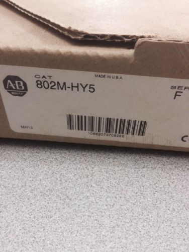 NEW IN BOX ALLEN-BRADLEY PRE-WIRED LIMIT SWITCH 802M-AY5 SERIES F, US $90.00 � Picture 2