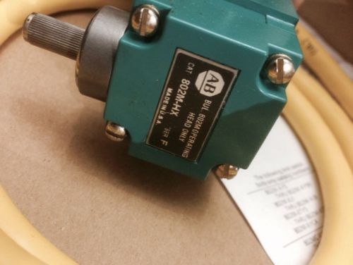 NEW IN BOX ALLEN-BRADLEY PRE-WIRED LIMIT SWITCH 802M-AY5 SERIES F, US $90.00 � Picture 7
