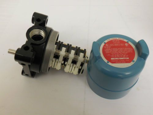 HONEYWELL MICRO SWITCH 21CX14-D01 Switch,SideRotary,StdHousing,SPDT, US $399.00 � Picture 6