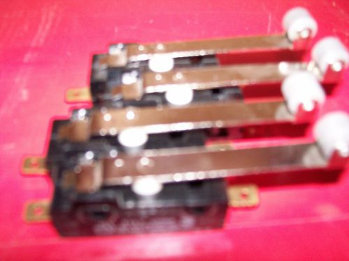 4 cherry limit switches see listing below
