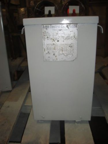 5 kva acme transformer model# t-1-53114 voltage 600-120/240