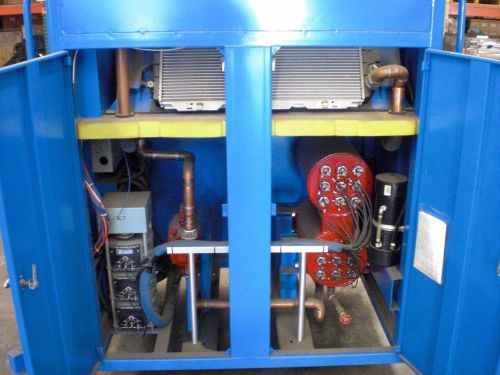 0-65 kw, 3 phase, 0-260v electric resistive load bank. click for photos & specs.