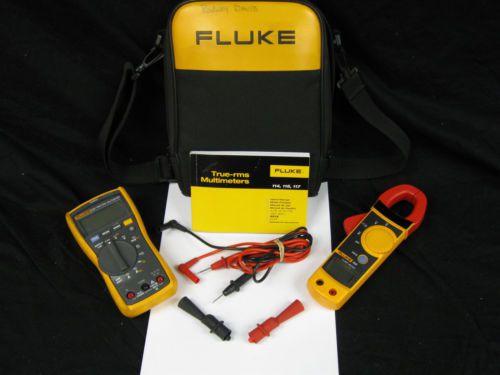 Fluke 322 Clamp Meter : Fluke multimeter clamp meter kit l k no