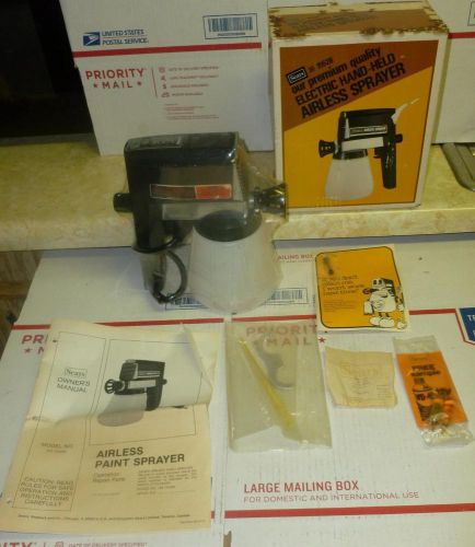 Nib*sears-craftsman*electric premium airless sprayer*sealed*orig box*rare*obo !!