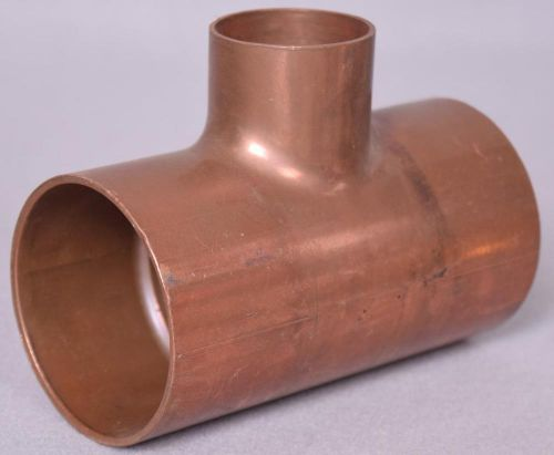 "New copper tee measures 2-1/2"" x 2-1/2"" x 1-1/2""  free shipping"