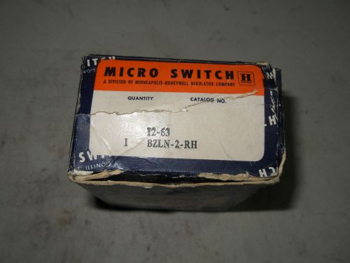 (q7-1) 1 nib microswitch bzln-2-rh limit switch