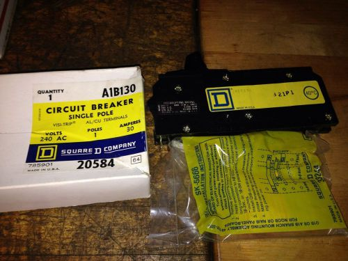 New square d a1b130 circuit breaker 240