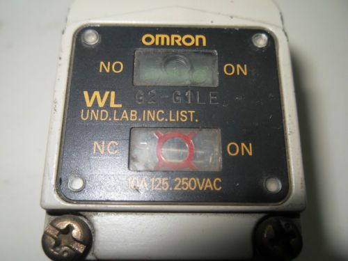 (Q9-1) 1 OMRON G2-G1LE LIMIT SWITCH, US $130.22 � Picture 2