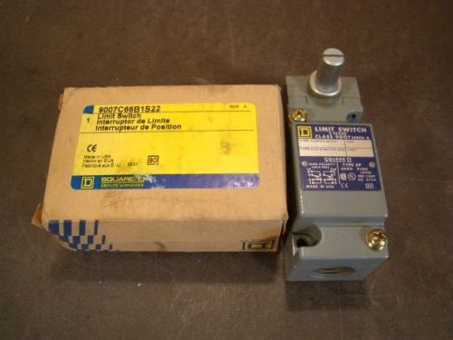 SQUARE D 9007C66B1S22  9007-C66B1S22 LIMIT SWITCH NEW, US $34.99 � Picture 1