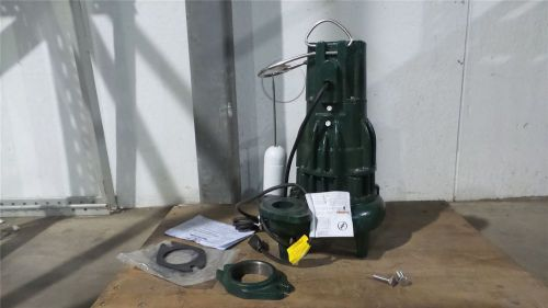 Zoeller d284 1 hp 1725 rpm 230v vertical switch submersible sewage pump