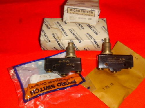 New, lot of 2, honeywell micro switch bz-2rq68, limit switch, new in box