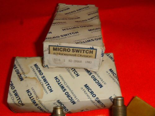 NEW, LOT OF 2, HONEYWELL MICRO SWITCH BZ-2RQ68, LIMIT SWITCH, NEW IN BOX, US $34.99 � Picture 2