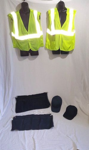 Lot of construction automotive manufacturing bike riding gear wear 6 pieces
