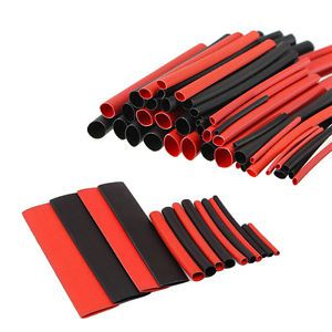 New 150pcs 2:1 Polyolefin Heat Shrink Tubing Tube Sleeving Wraps Wire Kit Cables � Picture 2