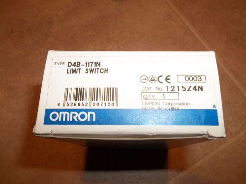 Omron s1051639 d4b-1171n limit switch new