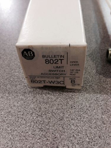 NEW IN BOX ALLEN-BRADLEY LIMIT SWITCH OPERATING LEVER 802T-W3C SERIES B, US $25.00 – Picture 2