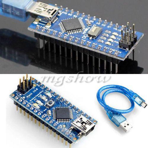 Arduino Nano USB Microcontroller v3 - RobotShop