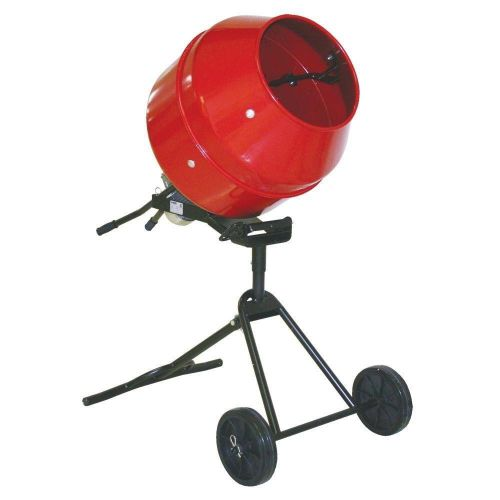 Proforce/husky portable rolling 5.3 amp 1/2 hp portable cement/concrete mixer