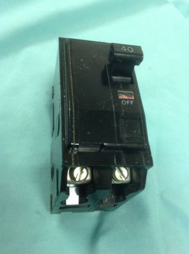 Square d  ,  qo240 circuit breaker 2 pole 40  a