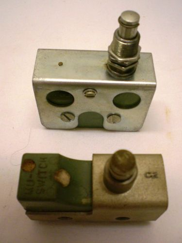 Robert shaw-mu, type d, 2 limit switches, mil. grade,1 no,1 nc, new, made in usa