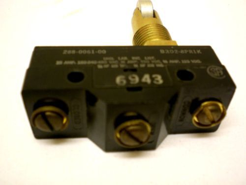 Robert Shaw-MU, Type D, 2 Limit Switches, Mil. Grade,1 NO,1 NC, New, Made in USA – Picture 5