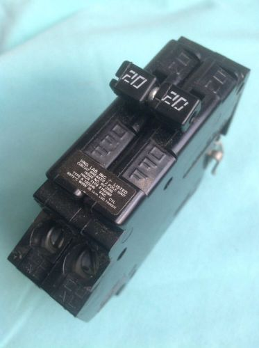 Challenger,crouse-hinds circuit breaker c220,a220 - 2 pole 20a , 208/240v- new