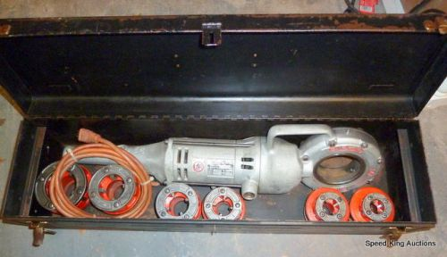 Ridgid 700 pony pipe threader w/ 6 dies with box