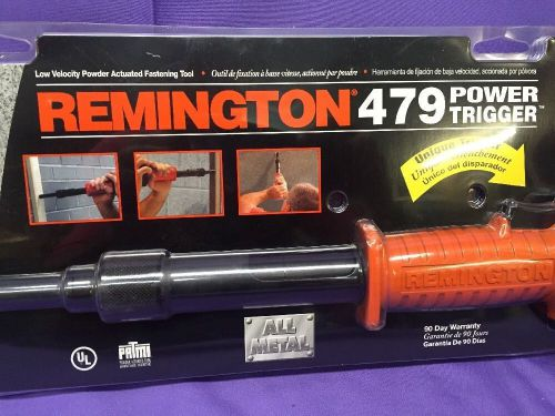 Brand new remington 479 power trigger .22 caliber acutated achor fastening tool