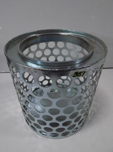 "6"" round hole strainer trash pump"