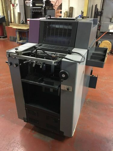 Heidelberg qm 46 single colour offset printing machine