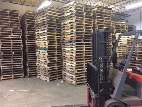 "48x40"" used in good condition pallets"