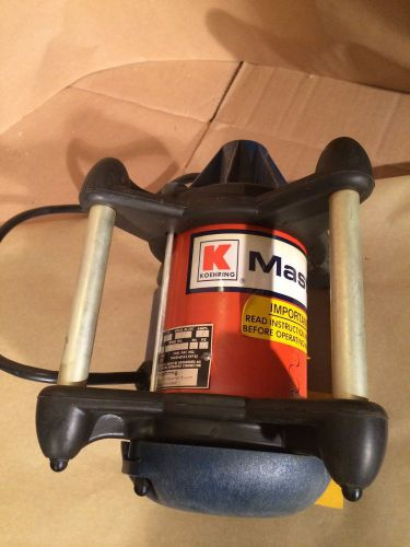 Koehring master concrete vibrator motor power unit new
