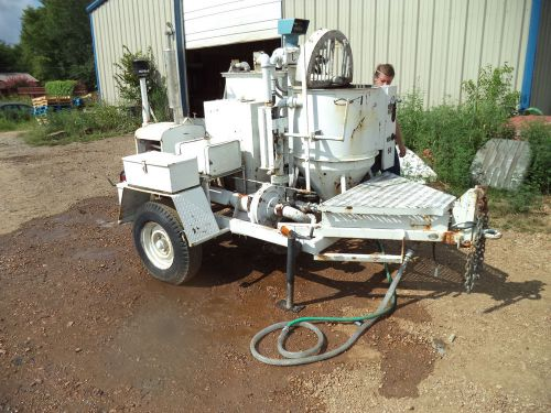 Airplaco towable grout concrete plaster mortar pump wisonsin gas powered