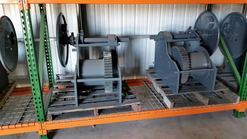 Barge winches new! nabrico type 40 ton capacity
