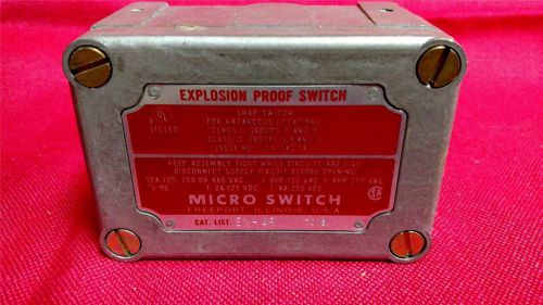 Explosion proof micro switch ex-ar  7013 - nos