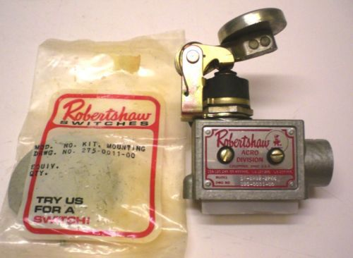 "Button Limit Switch ""ROBERT SHAW"" #SF-8RD2-2PN4, 15Amps @ 480V AC, Made in  USA � Picture 2"