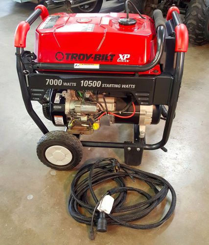 Portable generator - troy-bilt 2100 series - 7000 watt/10500 starting