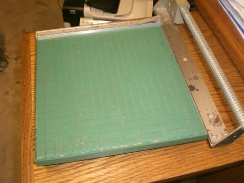 "Premier 11"" paper photo cutter rotary slide not guillotine excellent working"