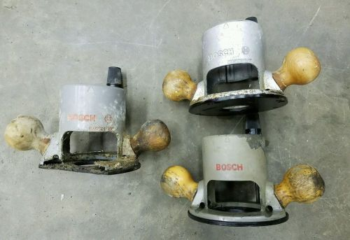 Bosch type s router bases - 2 good bases, 1 parts base ra1160 & ra1161