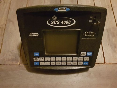 Raven precision scs 4000 canbus spray controller 063-0172-320 starlink gps ready
