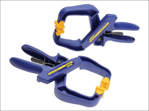 Irwin quick-grip - 4in handy clamps twin pack