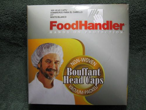Foodhandler bouffant head caps-non woven-food service hair net-food safety-diner