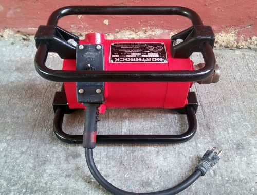 Concrete vibrator,northrock pro 2.0 hp power unit, mix & match shafts & heads