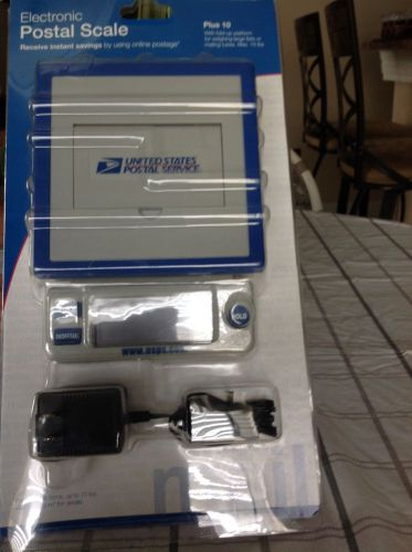 Electronic usps postal scale plus 10 - brand new & sealed