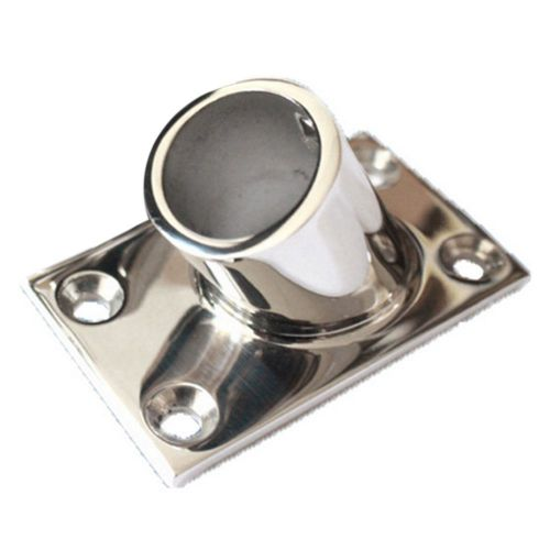 60 dregree square pipe base flat bottom yacht marine 22mm